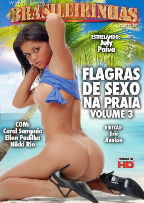 Flagras de Sexo na Praia 3