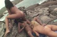 Festa das safadas na praia