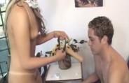 Veja os bastidores do filme porno Forum 8