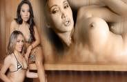 Em Sauna Girls, as melhores gostosas do pornô internacional se reuniram para muita putaria!