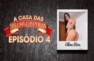 Aline Rios fazendo Gang Bang com cindo bem dotados