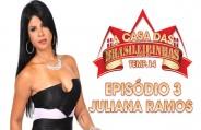 Juliana Ramos enlouquecendo no Pole Dance peladinha