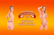 Sexy blondes open the year with lots of bitching in the Casa das Brasileirinhas - Season 21