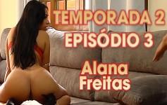 A morena Alana Freitas está na Casa para enlouquecer os rapazes!