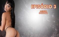 A sensual Aninha Galzerano é novata, mas deu um show na Casa!