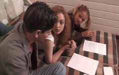 Grupo de estudos acaba em sexo com duas putinhas