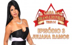 Juliana Ramos going crazy in Pole Dance peladinha