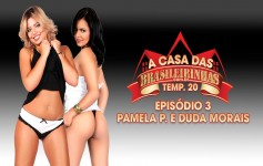 Duda Morais and Pamela Panther heat the House of Brasileirinhas very bitching