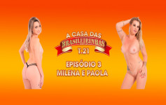 Milena Santos returned an...