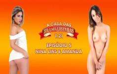 Nina Lins e Amanda Borge...