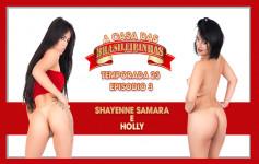 Shayenne Samara e Holly fizeram uma semana cheia de putarias