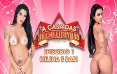 Babi Ventura e Milena Sato passaram uma semana na Casa das Brasileirinhas