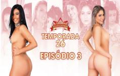 Sara Rosa e Nina Lins aprontaram muito na Casa das Brasileirinhas