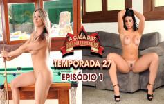 Danny Mancinni e Fernandinha Fernandez capricharam na semana no reality show
