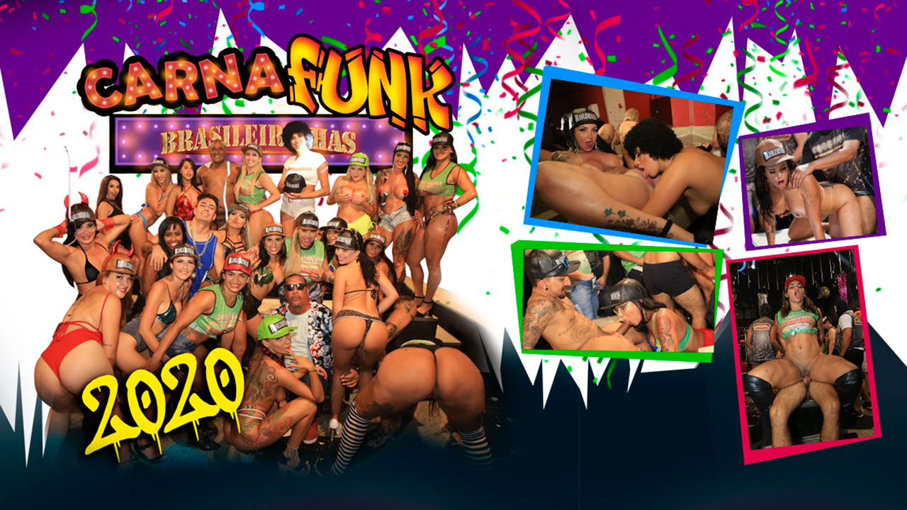 Putaria at Carnival: Carnafunk 2020 with a lot of sex and orgy