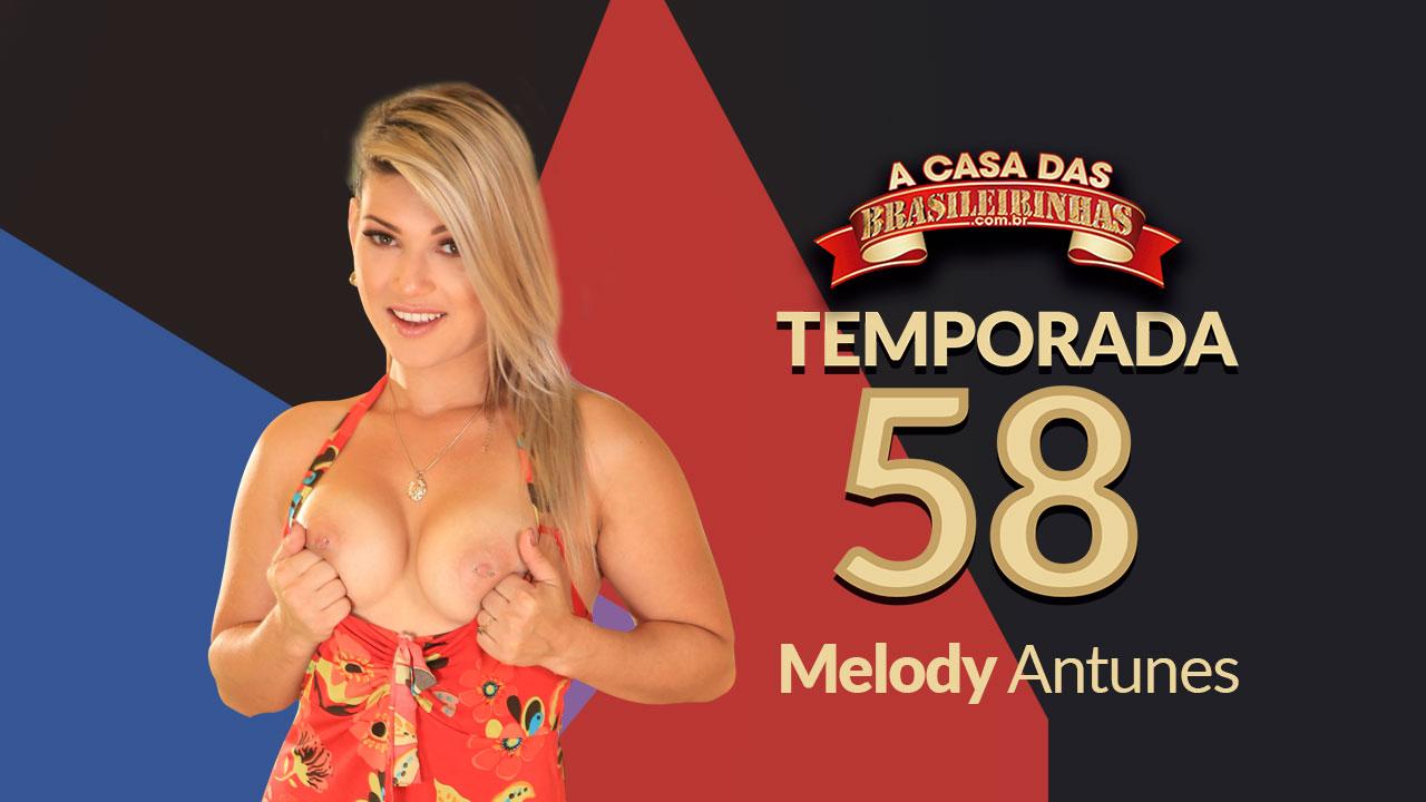 Melody Antunes releasing general at Casa das Brasileirinhas