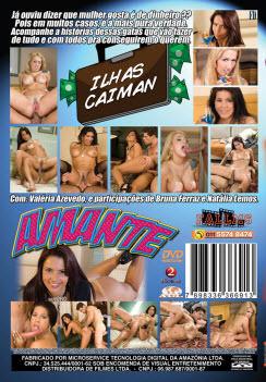 Filme pornô A Amante  capa de Trás