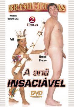 Filme pornô A Anã Insaciável Capa da frente