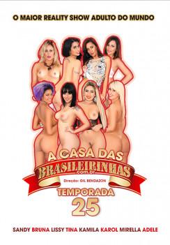 porn A Casa das Brasileirinhas Temporada 25 Front cover