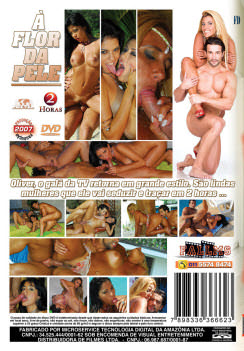 Filme pornô A Flor da Pele capa de Trás