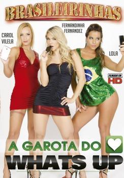 Filme pornô A Garota do Whats Up Capa da frente