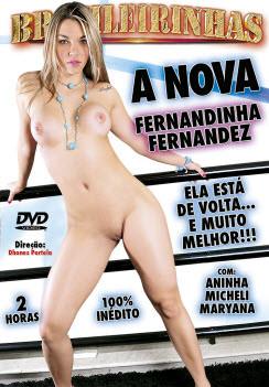 Filme pornô A nova Fernandinha Fernandez Capa Hard