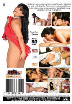 Filme pornô  A Rainha Do Bumbum capa de Trás