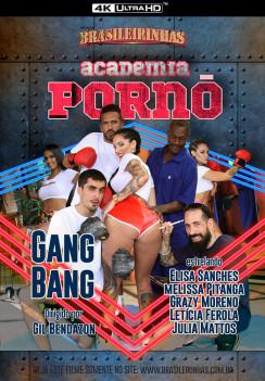 porn Academia Pornô Front cover