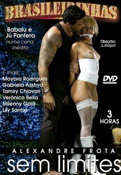 Filme pornô Alexandre Frota sem limites Capa da frente