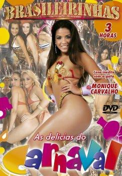 Filme pornô As Delícias do Carnaval Capa da frente
