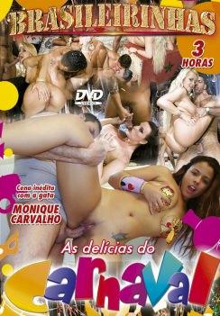 Filme pornô As Delícias do Carnaval Capa Hard