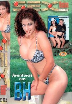 Filme pornô Aventuras em BH Capa da frente
