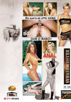Filme pornô Baba Lu a Ninfeta do Sul capa de Trás