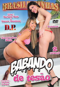 Filme pornô Babando de Tesão Capa da frente
