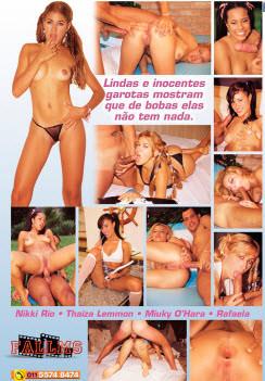 Filme pornô Baby Face 2 capa de Trás