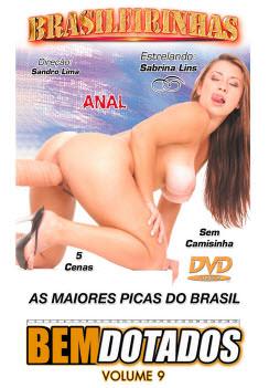 Filme pornô Bem dotados 9 Capa da frente