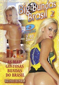 Filme pornô Big Bundas Brasil 2 Capa da frente