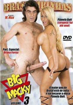 Filme pornô Big Macky 3 Capa da frente