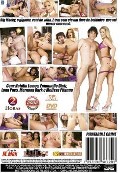 Filme pornô Big Macky 2 capa de Trás