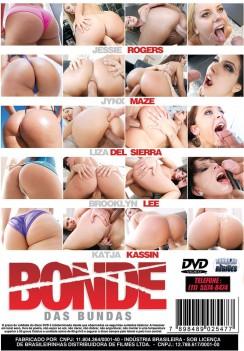 Filme pornô Bonde das Bundas capa de Trás