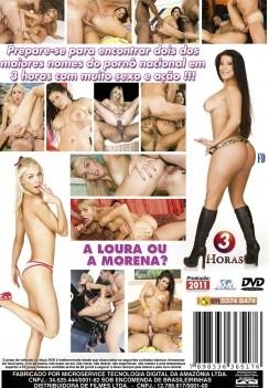 Filme pornô Bruna Ferraz vs Fernandinha Fernandez capa de Trás