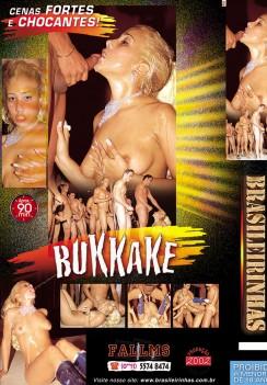 Filme pornô Bukkake Izza Saint capa de Trás