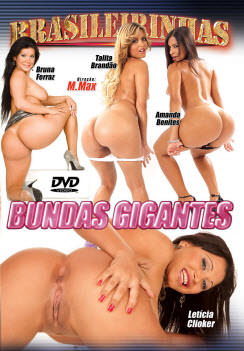 Filme pornô Bundas Gigantes Capa da frente