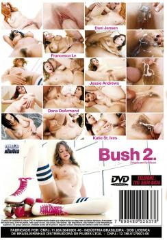 Filme pornô Bush Vol 2 (Peludas #2) capa de Trás