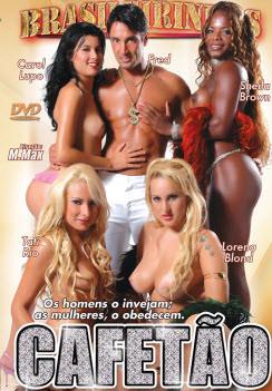 Filme pornô Cafetão Capa da frente