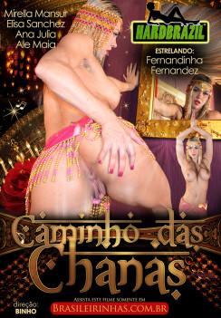 Filme pornô Caminho das Chanas Capa da frente