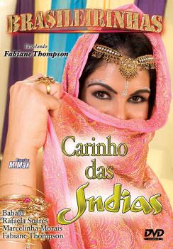 Filme pornô Carinho das Indias Capa da frente