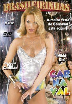 Filme pornô Carnaval 2009 Capa da frente