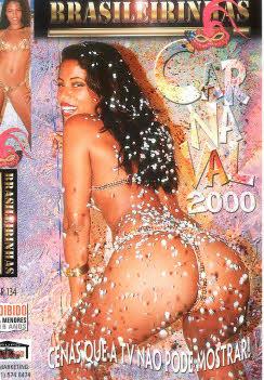 Filme pornô Carnaval 2000 Capa da frente