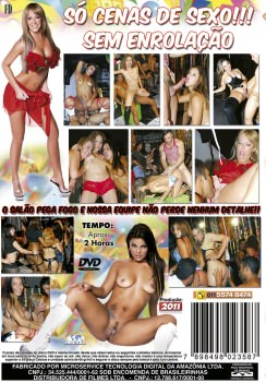 Filme pornô Carnaval 2011 capa de Trás